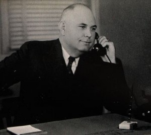 A&M President Charles A. Overstreet in 1940 photo