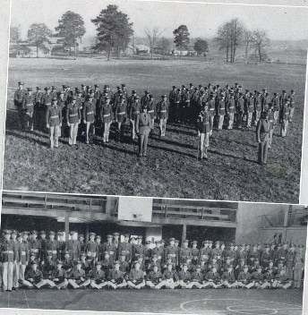 Companies B and D in 1939 photo