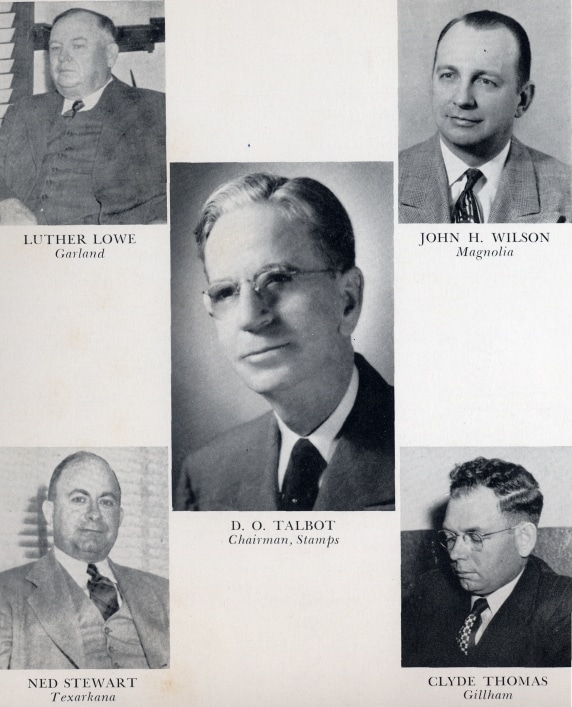 Board of Trustees, 1949 photo