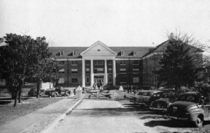 Bussey Hall, the new women's dorm in 1951 photo