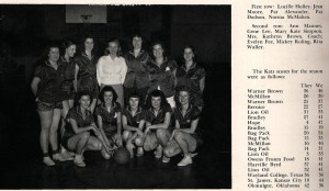 The College Kats, state champions in 1949 photo