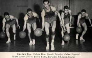 Basketball Team, 1948-49 photo