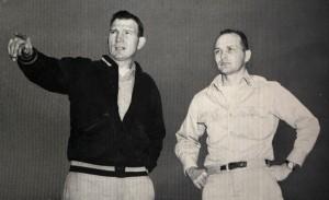 Coach Elmer and Coach Auburn photo