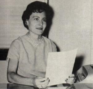 Maxine Porterfield, Secretary photo