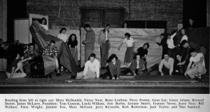 The Stagecrafters in 1950-51 photo