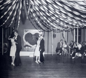 Valentine's Dance in 1953 photo