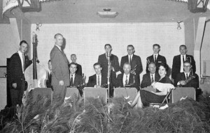 The Varsitonians in 1959 photo