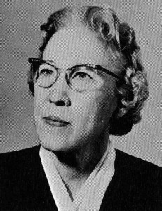 Professor Inez Couch who taught at SSC from 1925 to 1963 photo