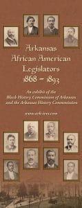 Arkansas African American Legislators, 1868-1893 Banner 1