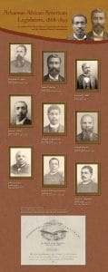 Arkansas African American Legislators, 1868-1893 Banner 4