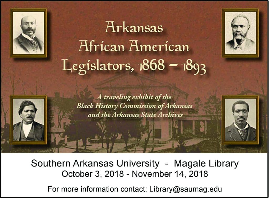 African American Legislators Exhibit Postcard