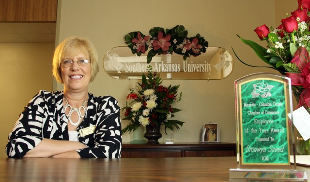 Sneed named Chamber's Employee of the Year