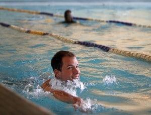 Swimming at SAU Aquatic Center