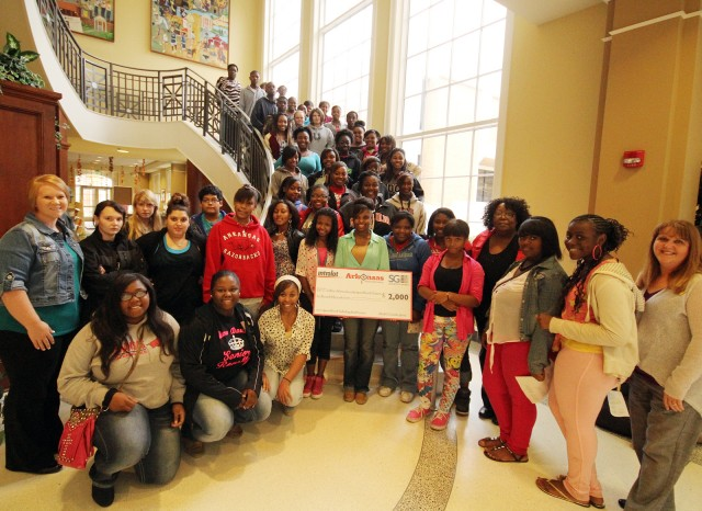 SAU's Upward Bound programs get $4,000 for technology
