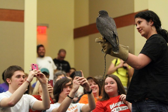 Presentation at SAU will bring birds of prey to light