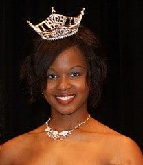 Valerie Brown Crowned Miss SAU 2010