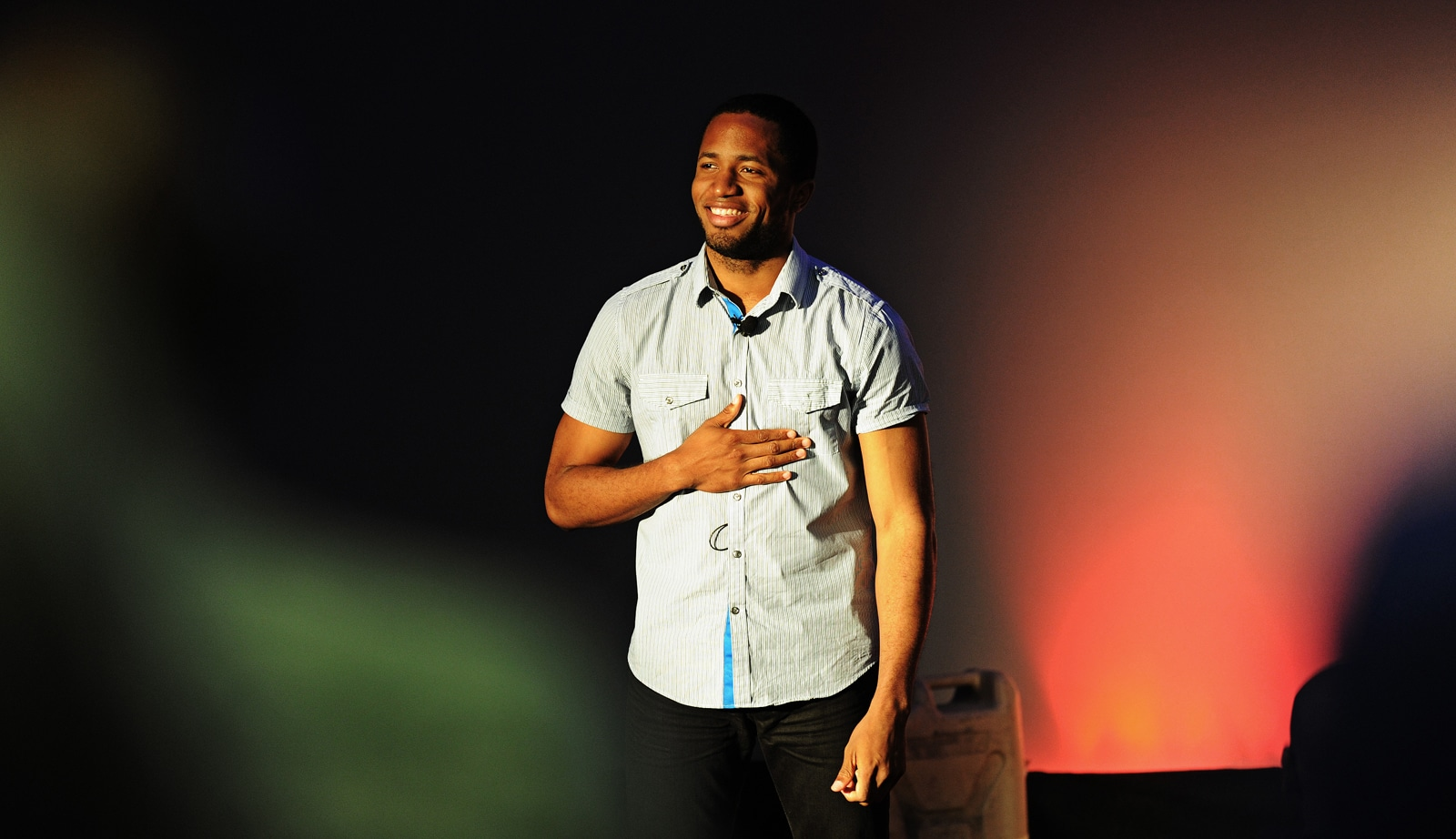 Spoken word poet to perform for Mallory Lecture