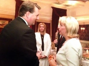 Mefford and former Ukranian First Lady Kathy Yushchenko