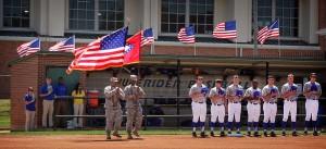 SAU baseball team celebrates Military Appreciation Day