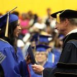 Mulerider Maye graduates