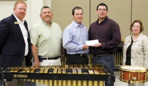 Plum Creek gives $2000 to SAU Band