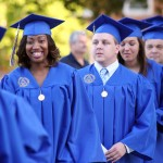 SAU graduates smiling