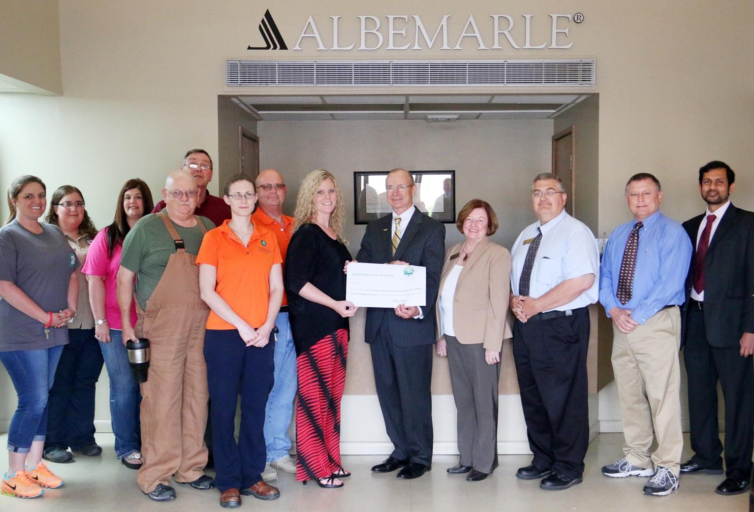 Albemarle gives $200,000 for SAU engineering