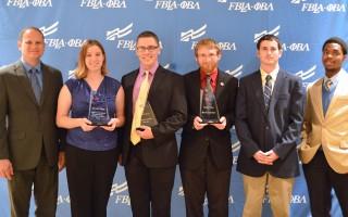 SAU PBL students win national awards