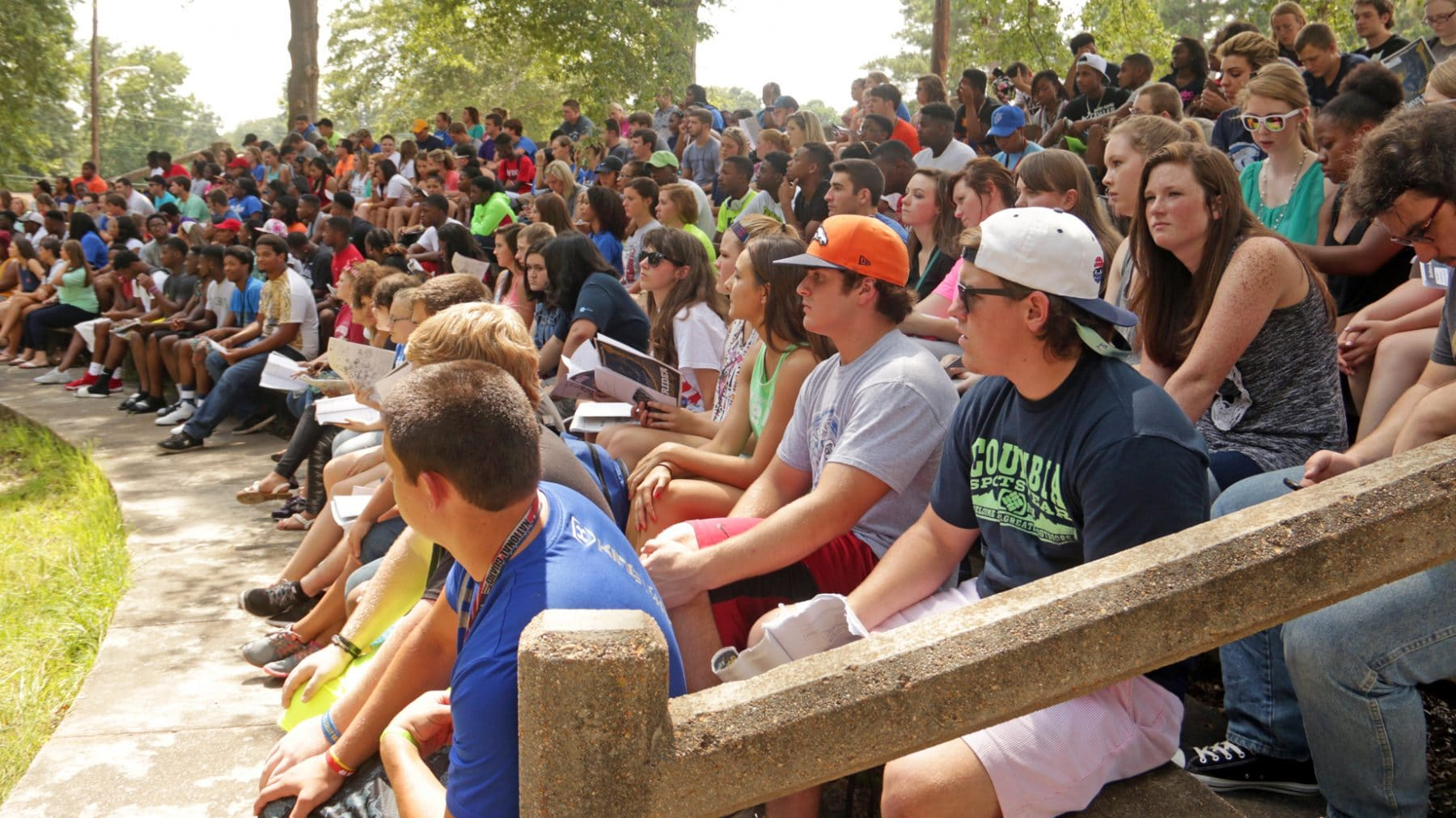 sau enrollment tops shatters multiple records news sau attracted more freshman students this year than ever before they gathered for mulerider roundup
