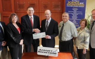 GenCorp Foundation gives $40,000 to SAU Engineering
