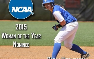Higginbotham nominated for NCAA Woman of the Year award