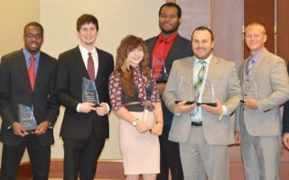 SAU business students earn national awards