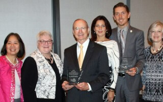 AEDC recognizes SAU reps with two awards