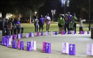 Luminaries on sale for 'Light for the Fight'