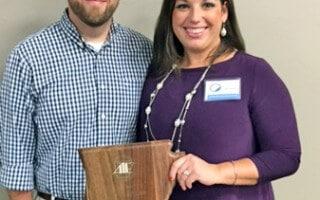 Heinze wins Outstanding Mentor Teacher Award