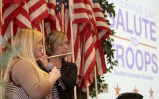 SAU's annual Veteran's Day Tribute Nov. 11