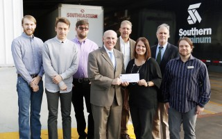 Southern Aluminum gives $5000 to SAU Art and Design