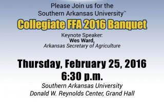 Collegiate FFA 2016 Banquet