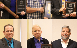 SAU faculty honored with annual awards; Wilson gets Honor Professor