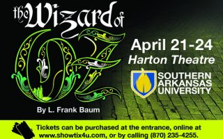 Tickets selling fast for this week's Wizard of Oz  at SAU in Magnolia