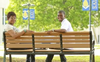 Mother overcomes odds and beats son to college degree