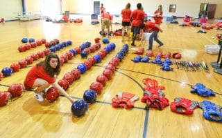 SAU hosts HOBY and projects get completed