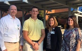 Internship allows student to combine finance and medicine