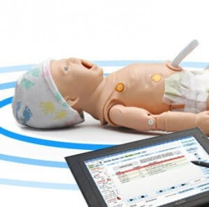 Tetherless  Control Newborn at distances up to 300 feet while he smoothly transitions between physiologic states in response to commands from a wireless tablet PC.